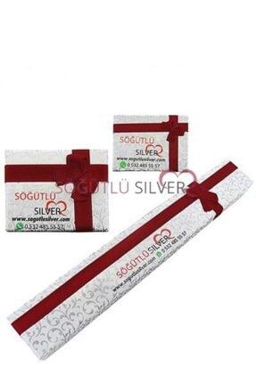 Söğütlü Silver Tek Taş Yüzük 1