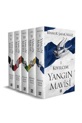 Dokuz Yayınları Yangın Mavisi Set (5 Kitap) 0