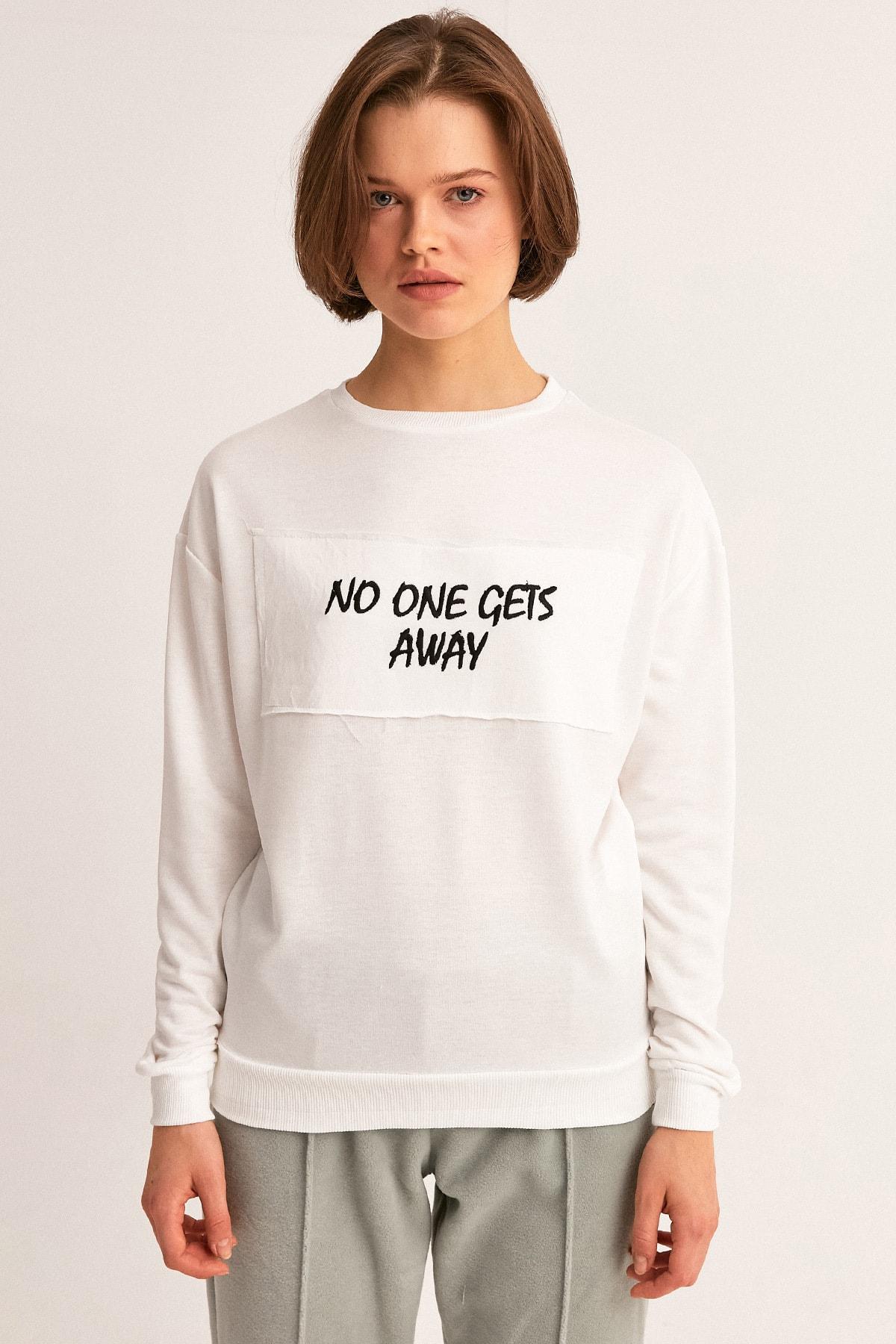 Fullamoda Baskılı Sweatshirt