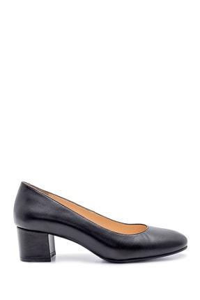 Derimod Kadın Deri Kalın Topuklu Ayakkabı 0