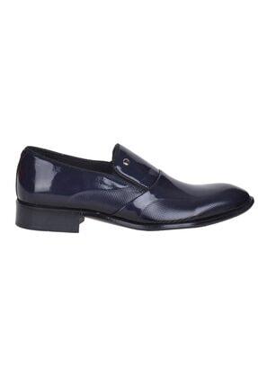 Picture of 00pc17 Lacivert %100 Deri Erkek Klasik Ayakkabı