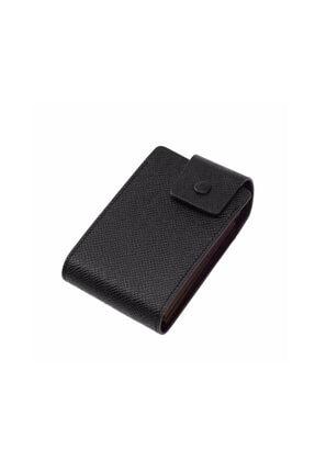 Kemer Dünyası Mbl Unisex 11 Bölmeli Siyah Kredi Kartlık - Cüzdan 2