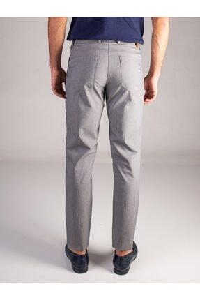 Dufy Gri Düz Erkek Pantolon - Regular Fıt 2