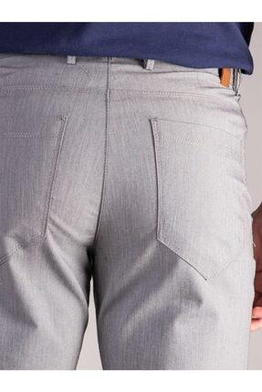 Dufy Gri Düz Erkek Pantolon - Regular Fıt 3