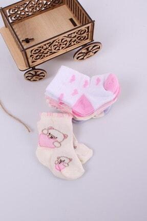 Babydonat Kız Bebek Çorabı 6 Adet 0-3 Ay 1