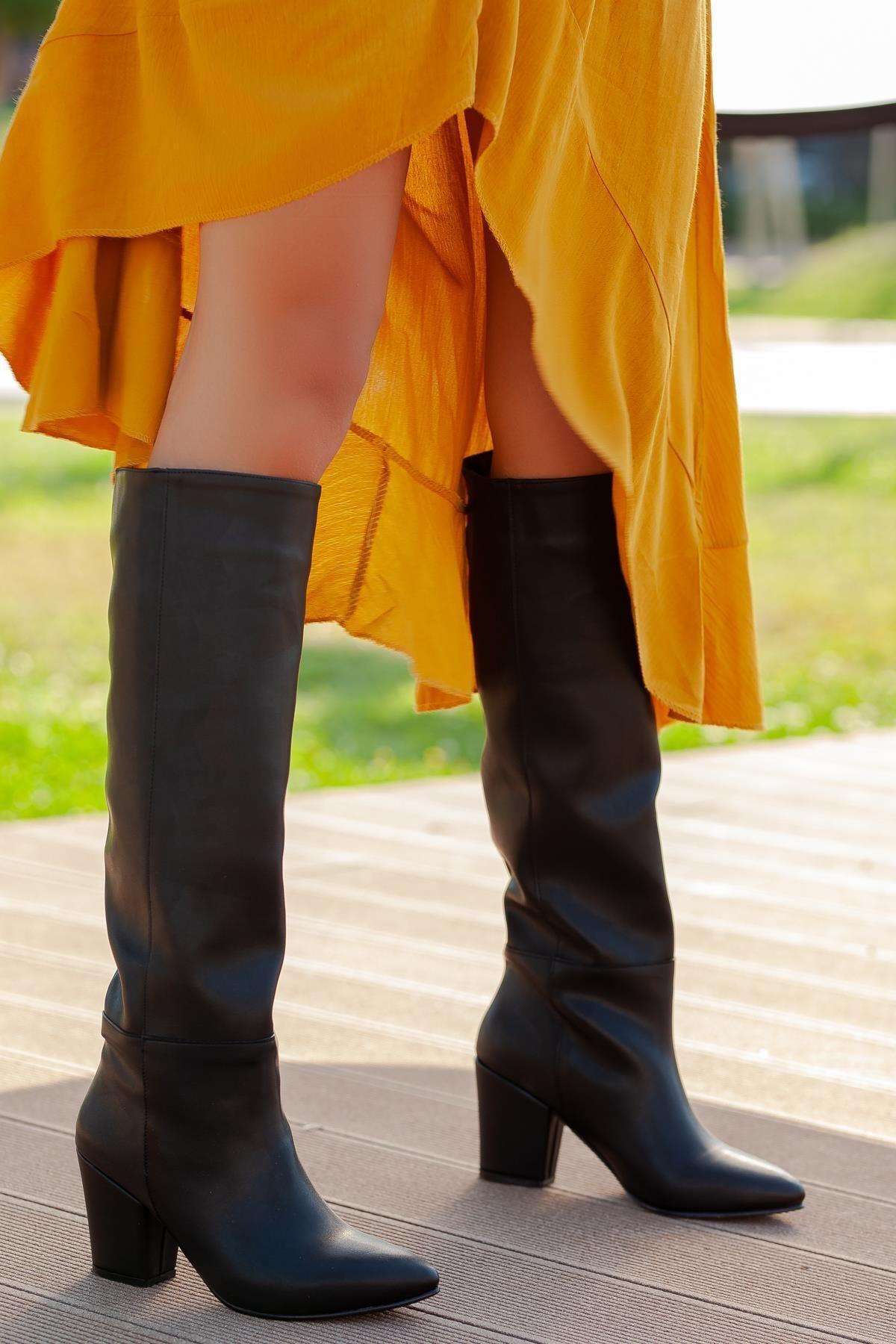 Ilkn01 Kadın Çizme