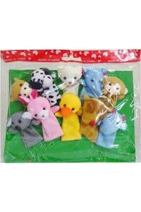 Happy Toys Özel Seri Oyuncak Eğlendirici 10,lu Parmak Kukla Seti 1