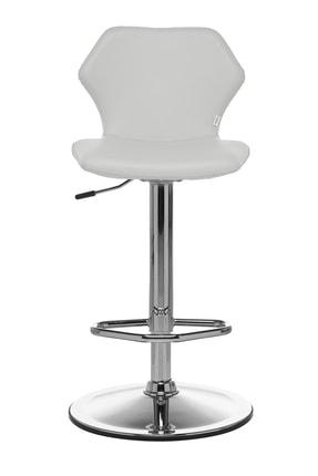 Seduna Kuga Bar Taburesi Beyaz | Bar Sandalyesi 0