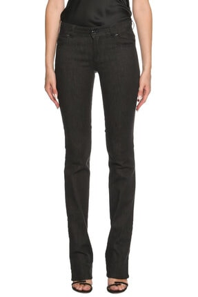 Siyah Jean Pantolon TFDPA093AT12098-BLACK
