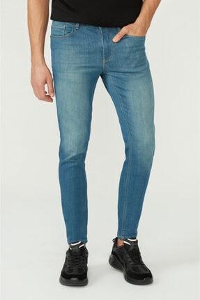 Avva Erkek Mavi Skinny Fit Jean Pantolon E003507 1