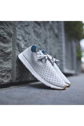 Native Shoes - Unisex Spor Ayakkabısı - Apollo Moc Pigeon Grey/shell White/nat Rubber 2