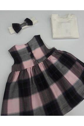 OLİBABY Aylık Kız Bebek Elbise 2