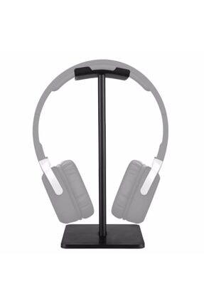AldımGeldi Kulaklık Tutucu Standı Metal Siyah Headset Stand Renk Siyah 2