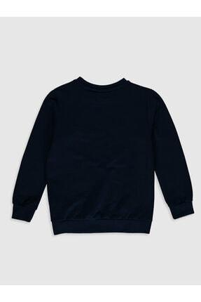 LC Waikiki Erkek Lacivert Always Perfect Çocuk Sweatshirt 1