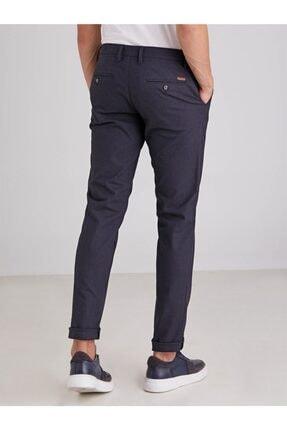 Dufy Lacivert Armür Erkek Pantolon - Regular Fit 3