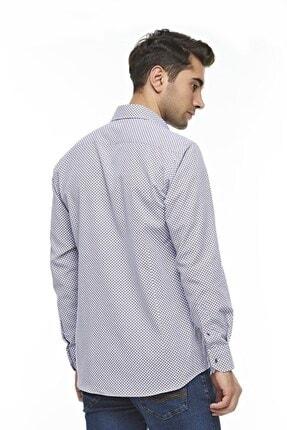Otto Moda Uzun Kollu Desenli Erkek Gömlek 1