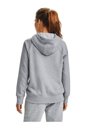 Under Armour Kadın Spor Sweatshirt - Rival Fleece Logo Hoodie - 1356318-035 1