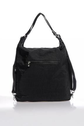 Smart Bags Smbky1205-0001 Siyah Kadın Omuz Ve Sırt Çantası 4