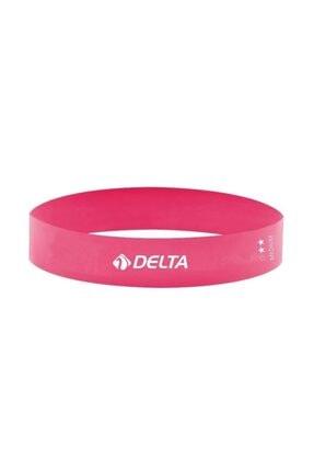 Delta Pembe Orta Sert Aerobik Bandı Lateks Bant Pilates Lastiği  Flm597 1