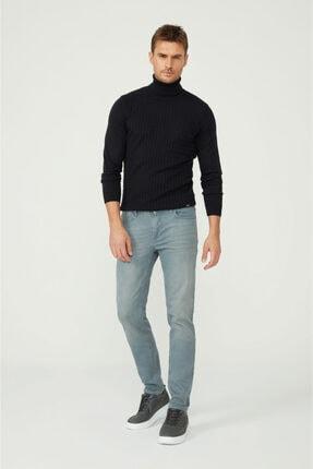Avva Erkek Gri Skinny Fit Jean Pantolon A02y3501 2