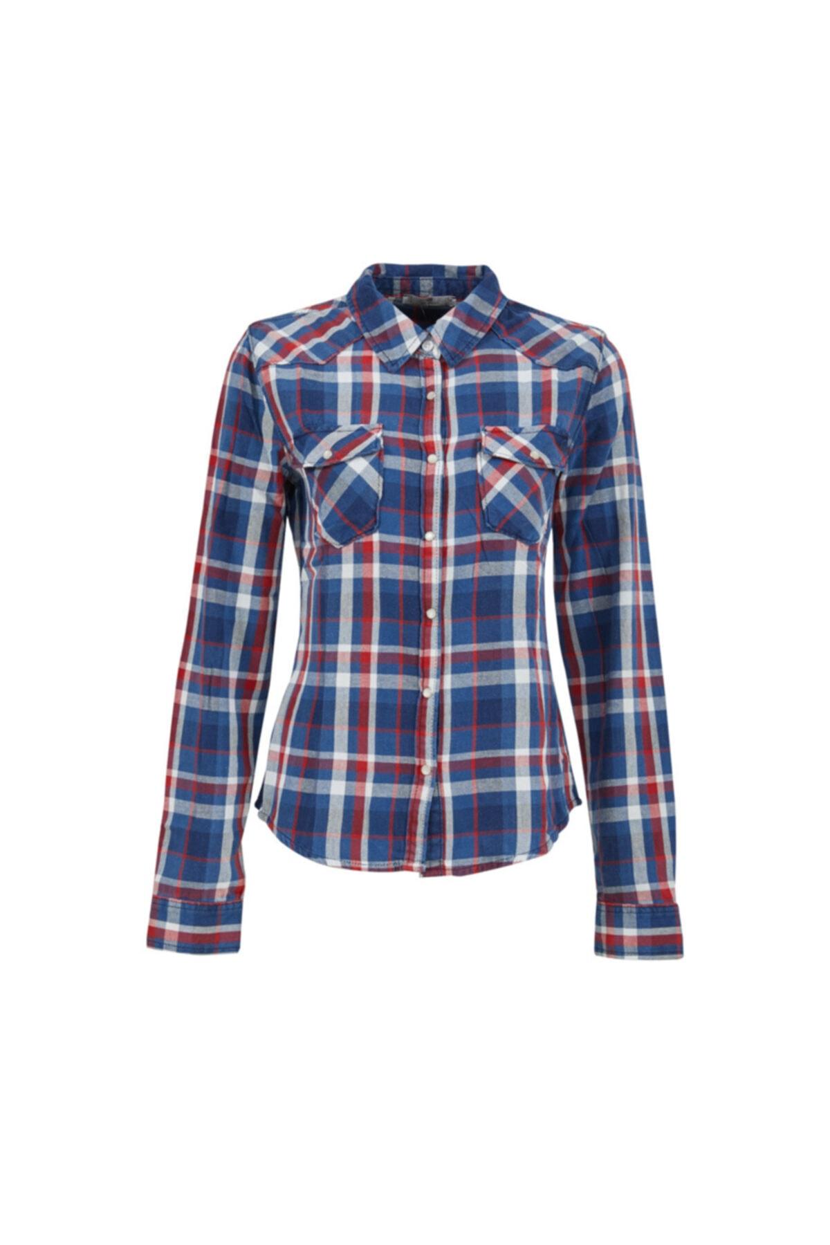 Kadın Jeans Gömlek 01009604741369450491
