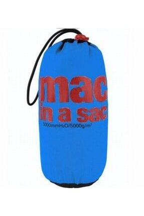 MAC IN A SAC Unisex Mavi Mias Origin Yağmurluk Ceket 3