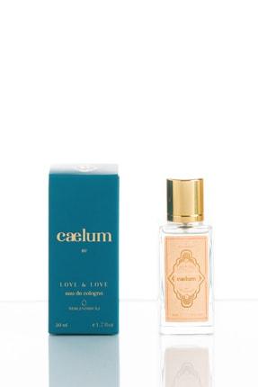 CAELUM Love & Love 50ml Eau De Cologne Spreyli Cam Şişe 0