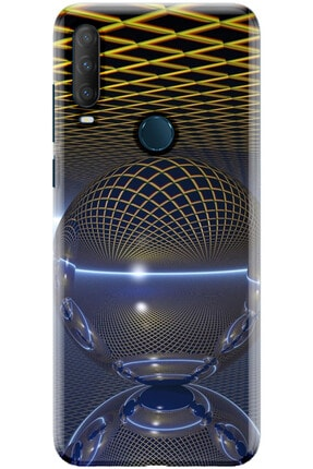 Noprin Alcatel 1s 2020 Kılıf Silikon Baskılı Desenli Arka Kapak 0