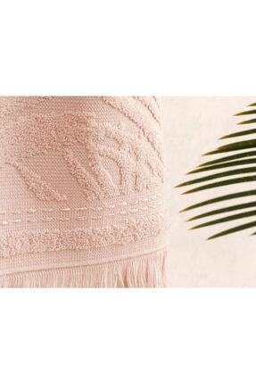 English Home Nude Palm Island Jakarlı El Havlusu 30x40 cm 1