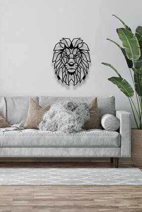 Decoration and You Aslan Dekoratif Metal Tablo Lazer Kesim 1