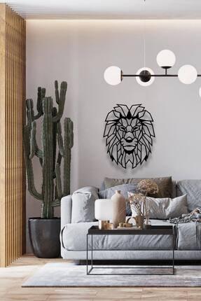 Decoration and You Aslan Dekoratif Metal Tablo Lazer Kesim 2