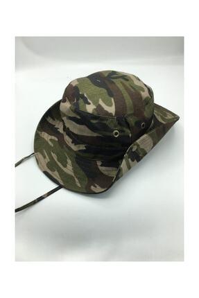 GONCA ŞAPKA Unisex Yazlık Katlanabilir Safari Şapkası 0