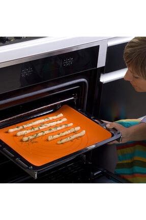 Softbowl Yanmaz Yapışmaz Silikomat Silikon Fırın Pişirme Matı 40x30 Cm 3