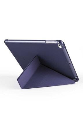 carına vannı Apple Ipad 9.7 2018 Uyumlu Siyah,kalem Bölmeli Katlanabilir Tablet Kılıfı,standlı Kılıf Pnd 3