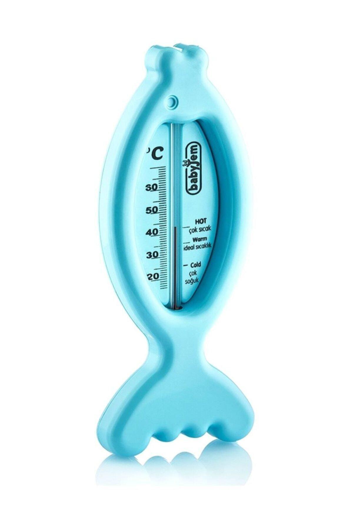 Balık Banyo Oda Termometresi Mavi