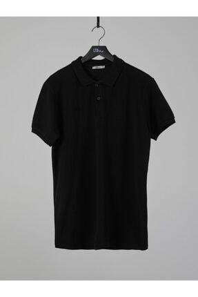 Ltb Erkek  Siyah Polo Yaka T-Shirt 012208450860890000 0