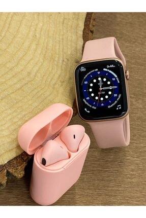 FERRO Watch 6 Plus Enson Seri 2021 Bluetooth Kulaklık Hediyeli Android Ve Ios Uyumlu 3