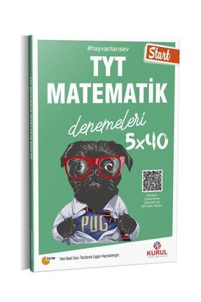 Kurul Yayıncılık 2021 Tyt Start 5x40 Matematik Denemeleri Qr Kod Çözümlü 0