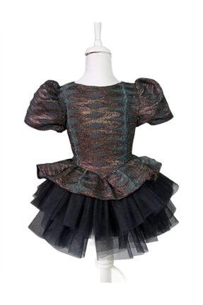 Abiye Parti Elbise Çocuk Elbise Doğum Günü Elbise 1-2 Yaş Elbise Tül Elbise Pamuk Elbise WRT32