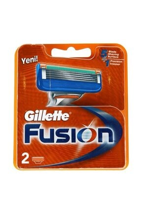 Gillette Fusion Yedek Tıraş Bıçağı 2'li 1