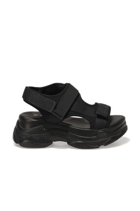 Polaris 315747S.Z 1FX Siyah Kadın Spor Sandalet 101016734 1