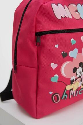 Defacto Kız Çocuk Minnie Mouse Lisanslı Sırt Çantası 2