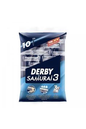 Derby Samurai3 2 x 10'lu + 3 x 50 ml Arko Traş Sonrası Krem 0