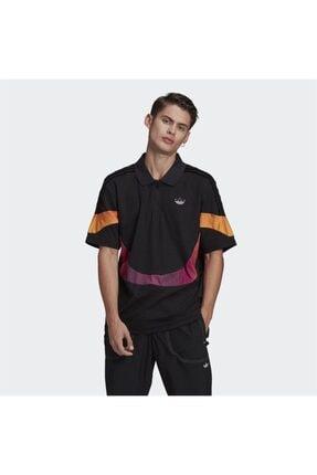 adidas Erkek Siyah Spor T-shirt 0