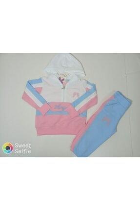 Kız Çocuk Batik Eşofman Takımı Kapüşonlu 51