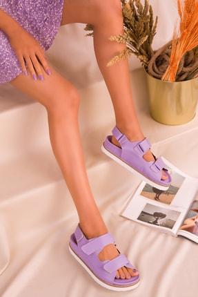 Soho Exclusive Lila Kadın Sandalet 16123 2