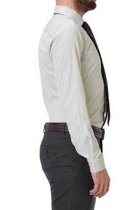 Efor Gk 490 Slim Fit Stone Klasik Gömlek 1
