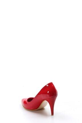 Fast Step Kırmızı Rugan Kadın Stiletto Ayakkabı 629za039-089 2