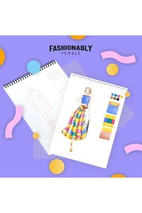 Atölye İzmir Fashionably Portfolio Female A4 1