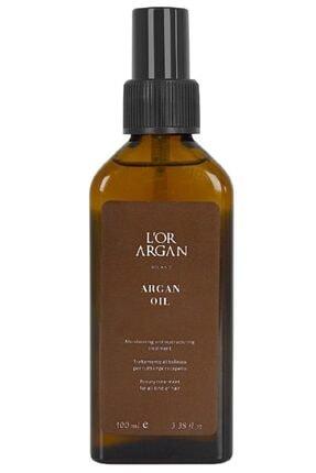 L'Or Argan Milano Aşırı Yıpranmış Saçlar Için Nemlendirici Onarıcı Argan Bakım Yağı 100ml 1